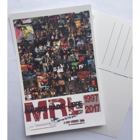 La Carte Postale des 20 ans de Maurice Radio Libre