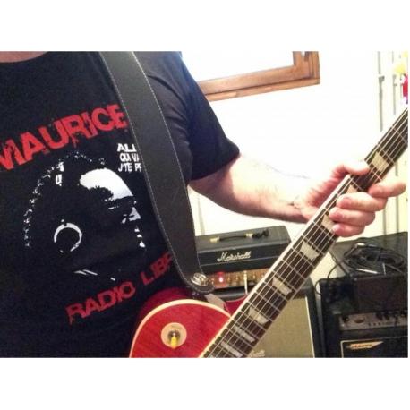 Tee-Shirt Maurice Radio Libre noir