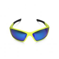 Lunettes GYST --  Sunglasses SG3-15 Neon jaune / R-Flect Bleu