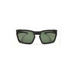 SG4-16 Sunglass Black Wood Print With Dark Green Lenses