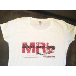 LE  dernier Tee-Shirt blanc Maurice Radio Libre